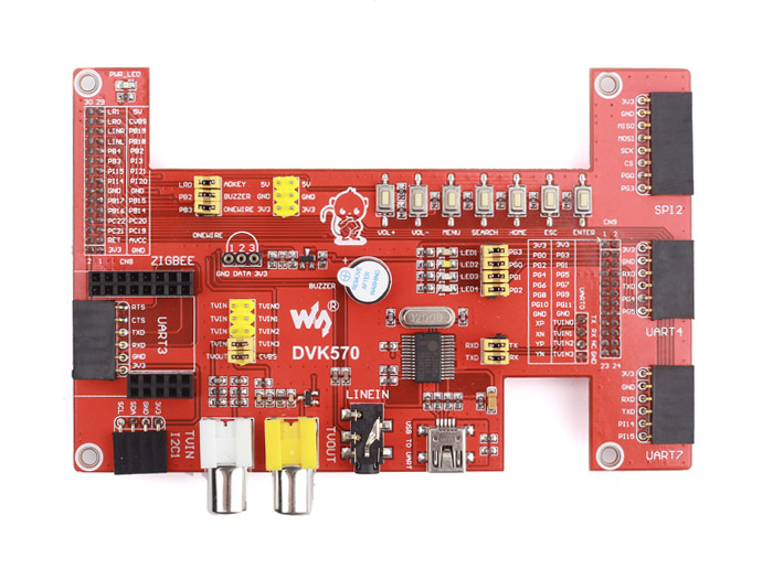 DVK570 Shield for Cubietruck